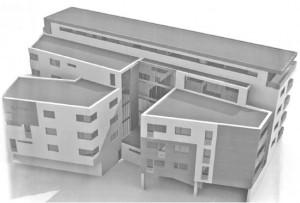 """Bytový dům """"POKROK"""" - simulace"""