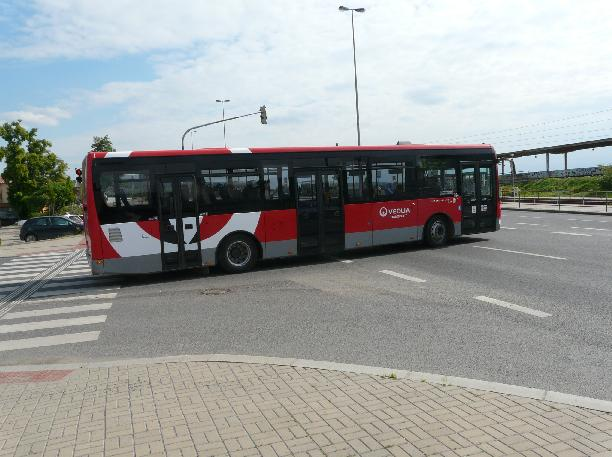 Linka 153 společnosti Veolia Treansport ČR